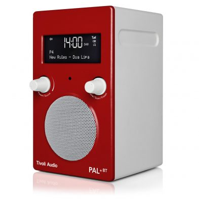 Tivoli Audio pal+ i rød