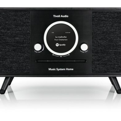 Tivoli Audio music system plus i sort front