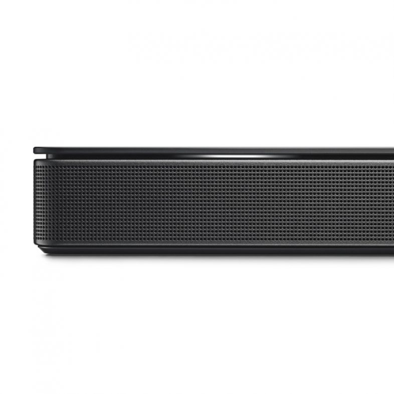 Bose soundbar 500 i sort hjørne