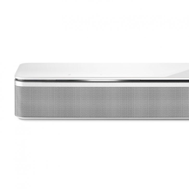 Bose soundbar 700 hvid front tæt på