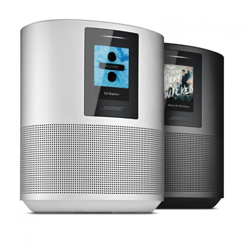 Bose home speaker 500 i sølv og sort