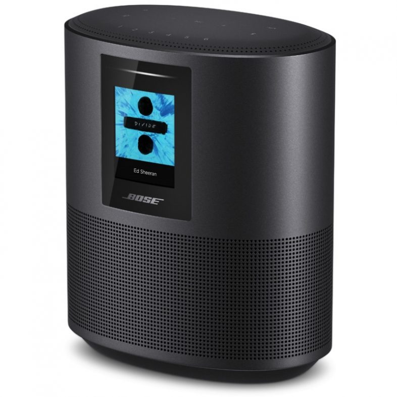 Bose home speaker 500 fra siden i sort