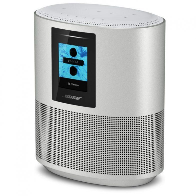 Bose home speaker 500 i sølv fra siden