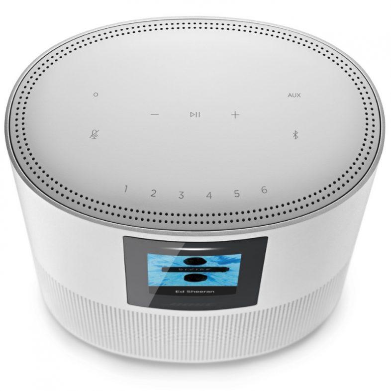 Bose homespeaker 500 i toppen silver
