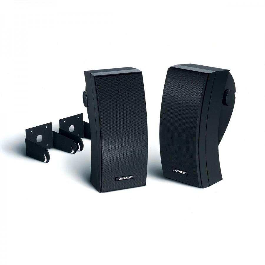 Bose 251 udendørshøjtalere i sort med montering