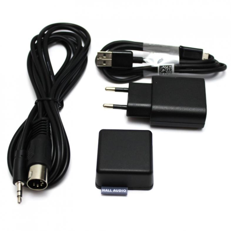 Hall audio connector kabler der medfølger