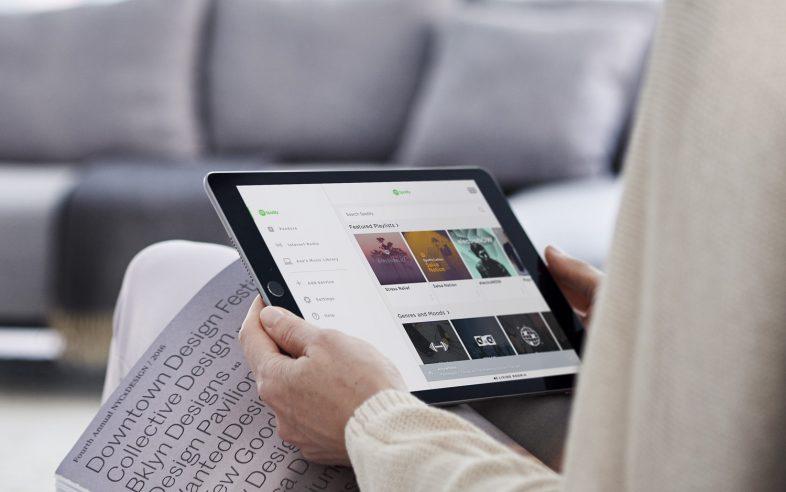 Bose Lifestyle 550 trådløs musik streaming fra iPad