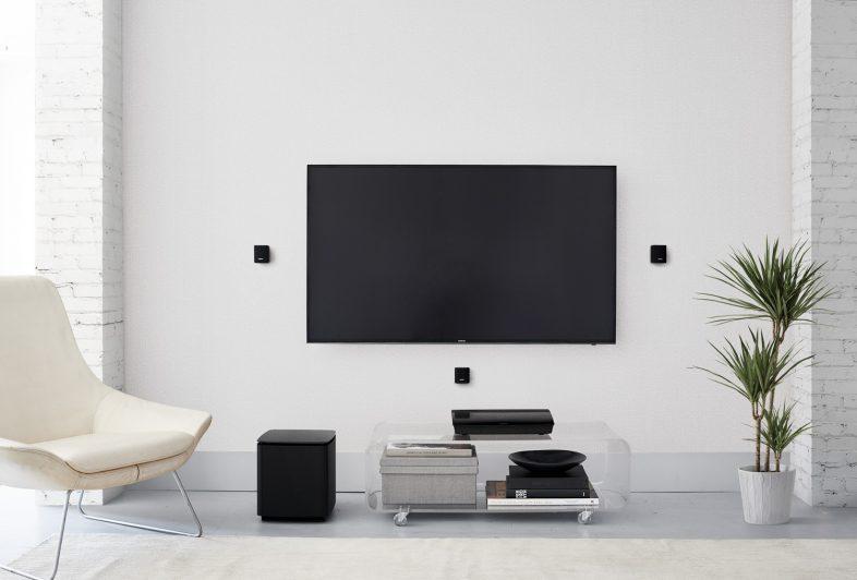 Bose lifestyle 550 tilsluttet fjernsyn