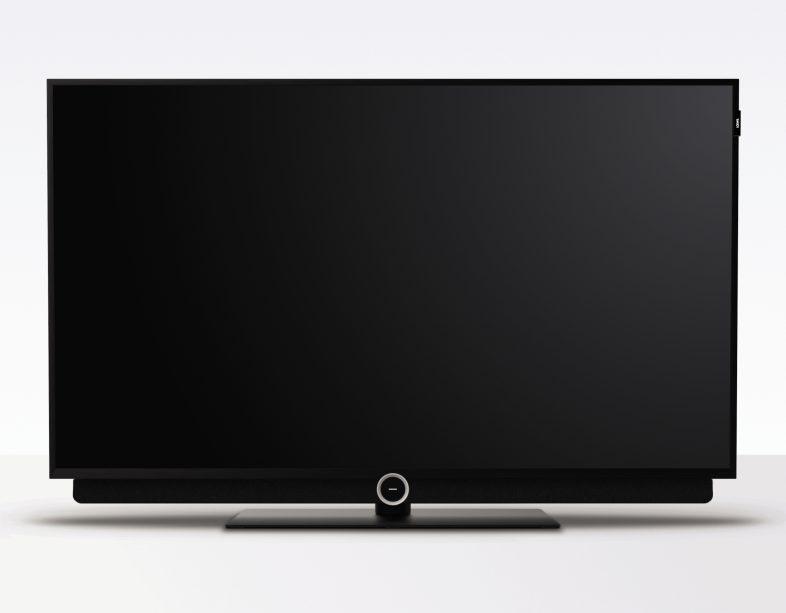 Loewe bild 2 49 tommer med hvid baggrund