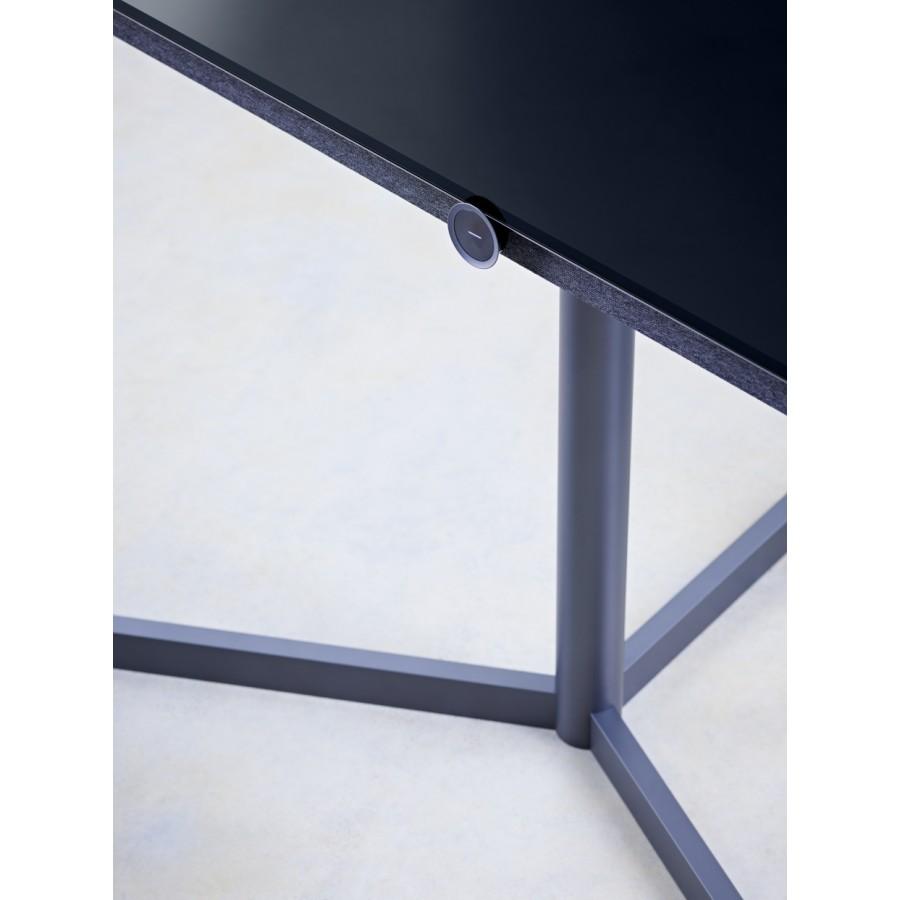 Loewe bild 7 smart gulvstand i graphite grey