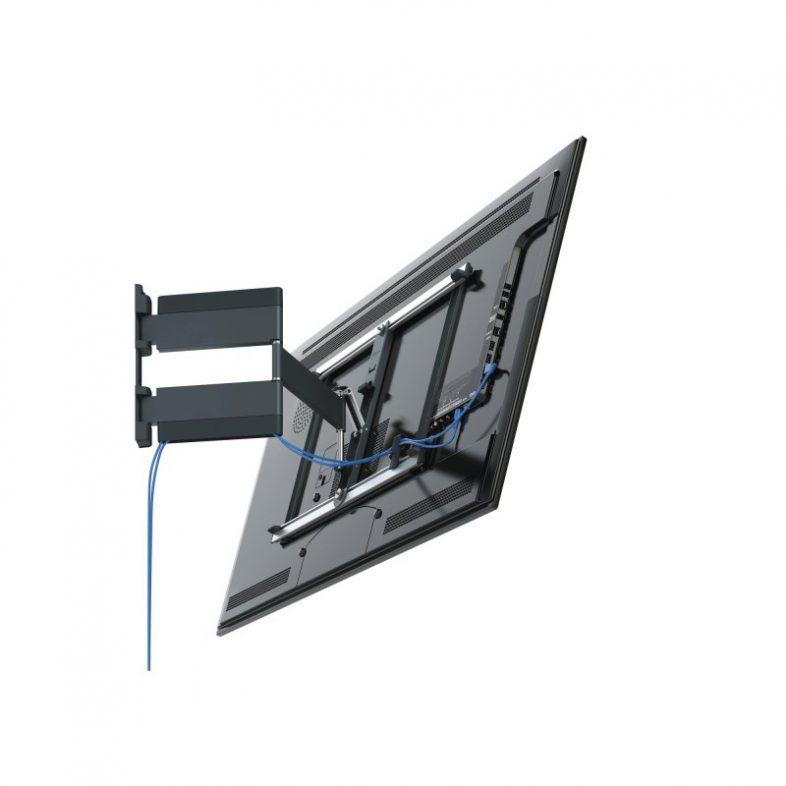 Vogels thin 445 med tv og skjult kabelføring
