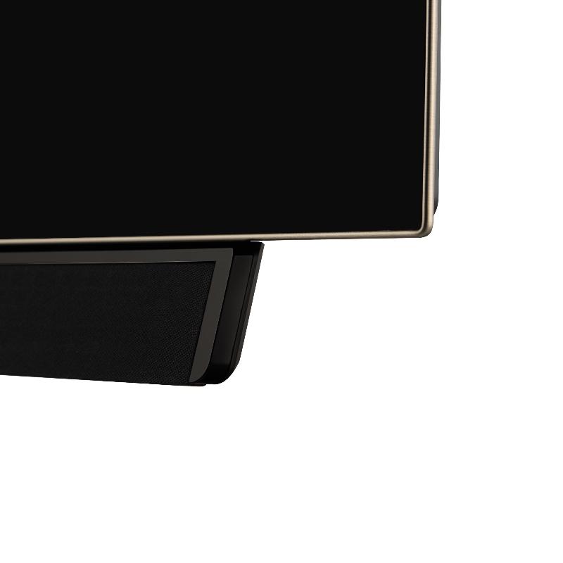 Loewe Bild 4 OLED skærm og højttaler detalje