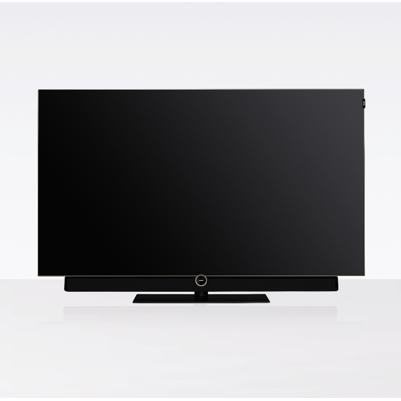 Loewe Bild 4 fjernsyn i 55 tommer på hvid baggrund