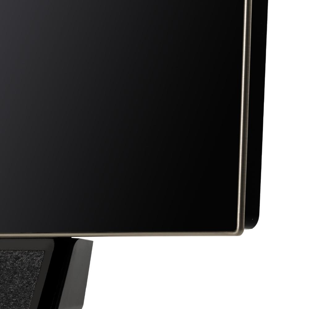 Loewe Bild 5 piano black detalje oled skærm og højttaler