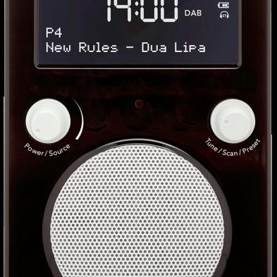 Tivoli Audio pal+ i sort
