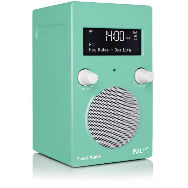 Tivoli Audio pal+ grøn fra siden