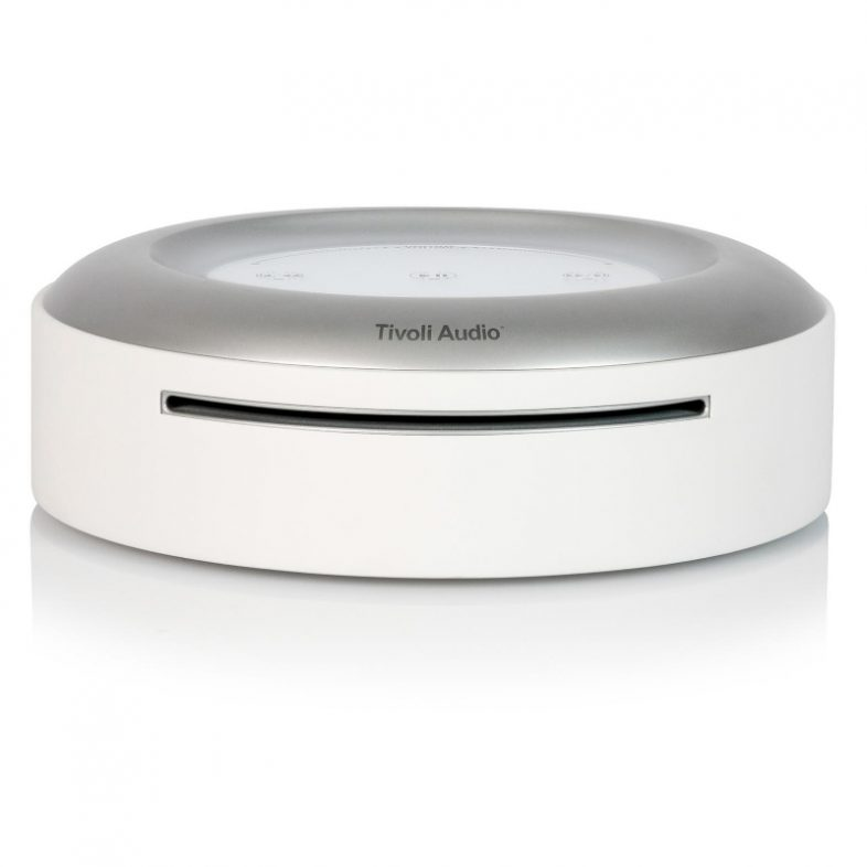 Tivoli Audio model cd i hvid front