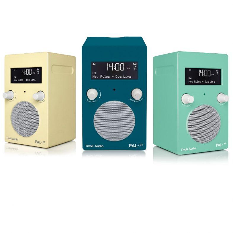 Tivoli Audio pal+ summer edition i tre nye farver